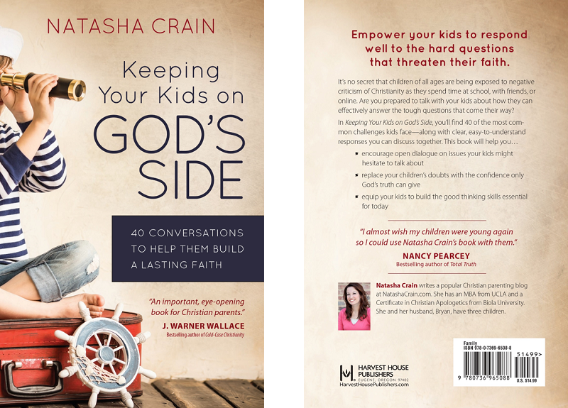 Available Now: Keeping Your Kids on God's Side