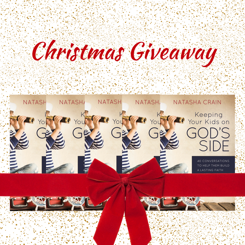 Christmas Giveaway - Keeping Your Kids on God's Side