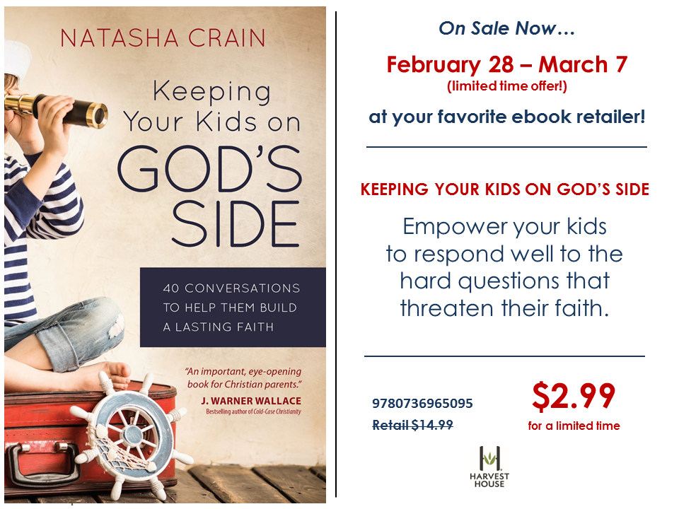 Ebook Sale on Keeping Your Kids on God's SIde