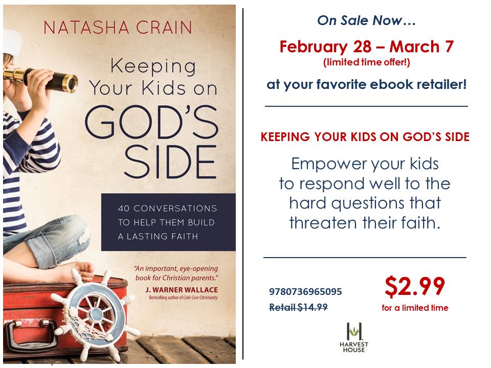 Ebook Sale on Keeping Your Kids on God's SIde