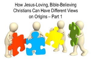 How Jesus-Loving, Bible-Believing Christians Can Have Different Views on Origins | Christian Mom Thoughts